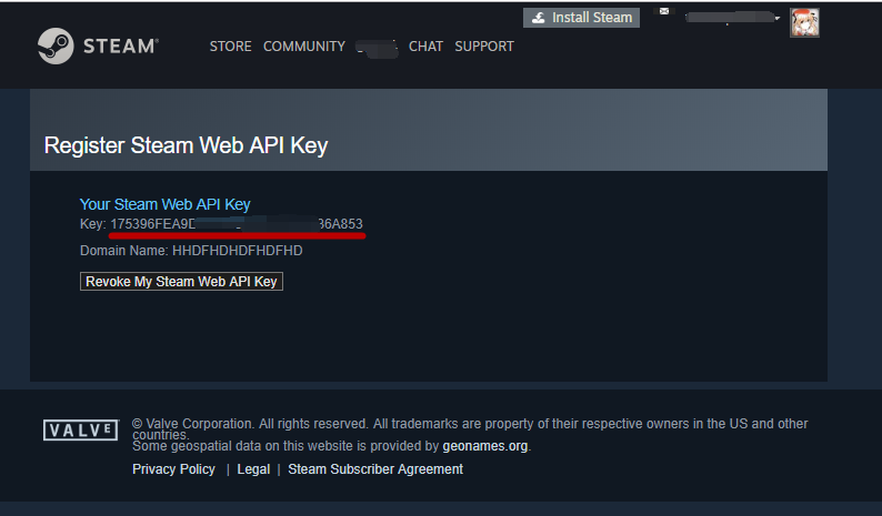 How to set API KEY - ZBT Global Gaming Digital Asset Community